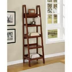 Style Bookshelves Harlan Ladder Style Bookcase Sam S Club