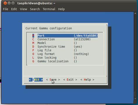 tutorial gammu php sms gateway menggunakan java dan gammu part 1 instalasi