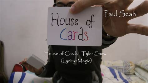 house of cards chords house of cards tyler shaw lyrics video magic chords chordify