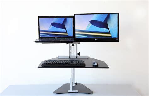 Ergo Desktop Kangaroo Hybrid Full Size Unit Kangaroo Standing Desk