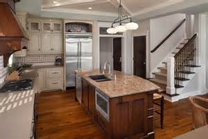 Kitchen island sink kitchen traditional with beadboard breakfast bar