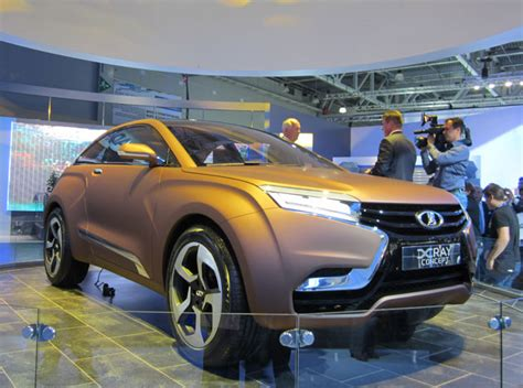 Modern Lada Autostat Concept Lada Xray Shows New Design Strategy Of