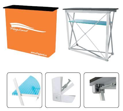 Pop Up Counter Pop Up Table Event Desk Belum Termasuk Printing advertising pop up desk