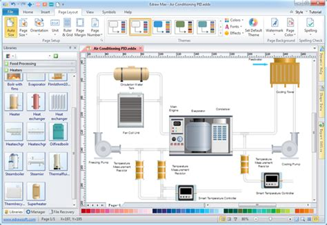 p id diagram software p id designer make p id and pfd simply