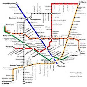 zaragoza airport site plan transportation pinterest detroit regional mass transit map 2011 detroitography