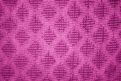 pink pattern texture hot pink dish towel with diamond pattern close up texture