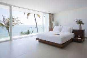 bedroom view private beach villas offer spectacular ocean views and