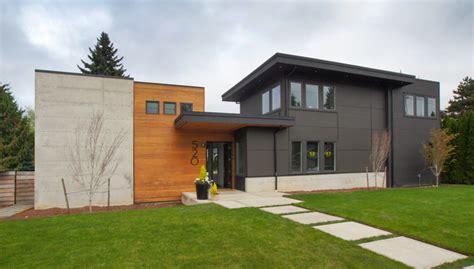 courtyard house atelier drome a d modern courtyard home modern exterior seattle by