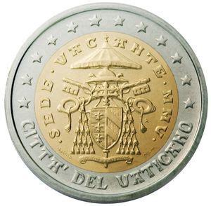 sede vacante 2005 moneta 2 sede vacante citt 224 vaticano 2005