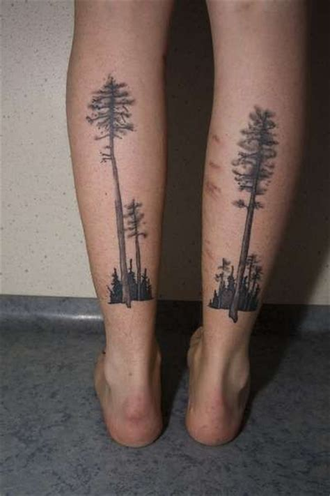 leg tree tattoos 64 best tree ideas images on snowflakes