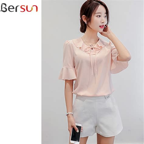 Blouse Korea Fashion Casual korean fashion tops fashion today