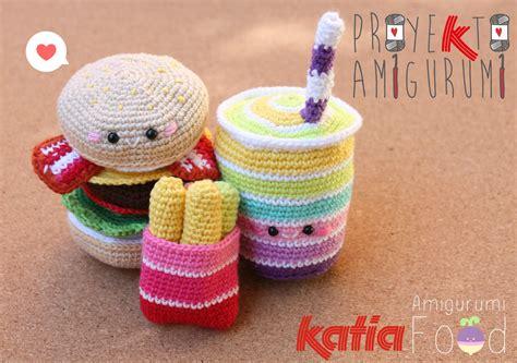 amigurumi hamburger pattern free proyekto amigurumi combo by amigurumi food
