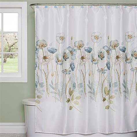 bed bath beyond shower curtains garden melody shower curtain bed bath beyond