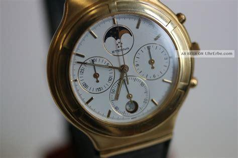 Navyforce Original eterna airforce herrenmodell gelbgold chronograph