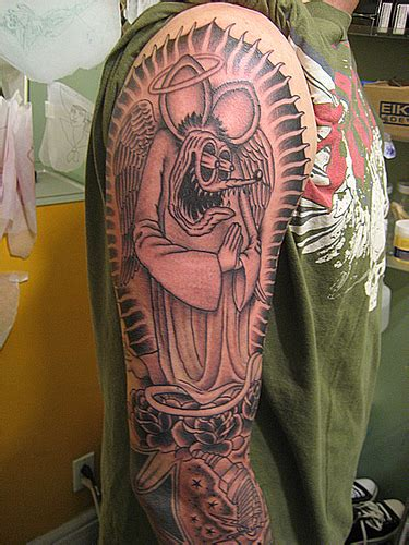 rat fink tattoo designs the rat fink chris wellard tattoos flickr