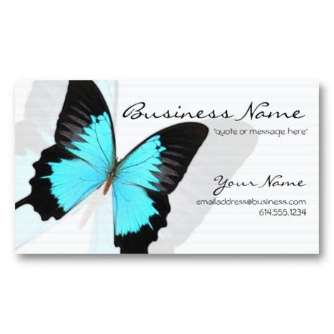 Aim Template Butterfly Place Cards by 17 Best Images About Business Cards Animal Non Pet On