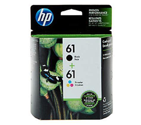 hp 61 tri color ink cartridge hp 61 black tri color ink print cartridge combo pack