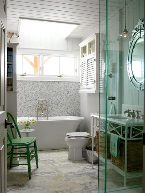 Cottage Bathroom Design Walk In Tub Designs Pictures Ideas Tips From Hgtv Hgtv