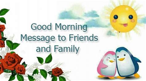 messages for friends and family morning message to friends and family