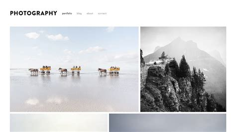 The Top 5 Squarespace Photography Templates Youtube Best Squarespace Template For Photographers