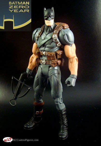 Mainan Figure Batman Zero Years batman zero year dc universe custom figure
