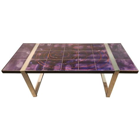 Handmade Ceramic Table Ls - juliette belarti large mid century coffee table featuring