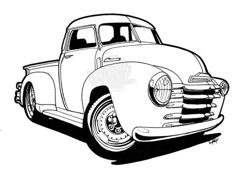 classic cars coloring pages for adults cars chevy truck coloring pages provide some of the best