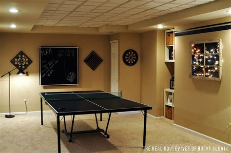 Basements Ideas ping pong table basement ideas pinterest ping