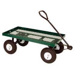 Garden Wagon Metal Frame Garden Utility Wagon Qc Supply