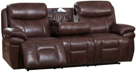 power reclining sofa with adjustable headrest summerlands ii brown adjustable headrest power reclining
