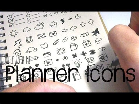 doodle me do bullet journal planner icon doodles doodle with me