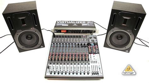 Mixer Behringer Xenyx 1832fx how to use fx2000 multi effect processor with xenyx mixer
