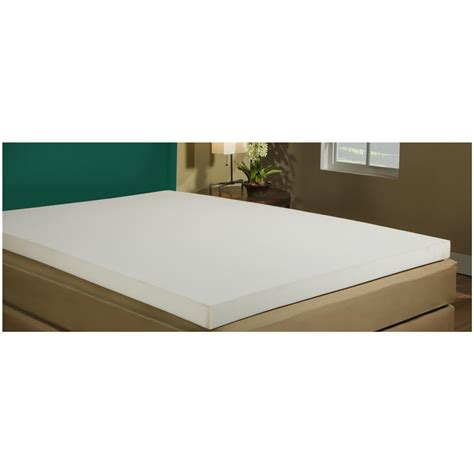 futon memory foam mattress topper adaptaflex 4 quot memory foam mattress topper 625846