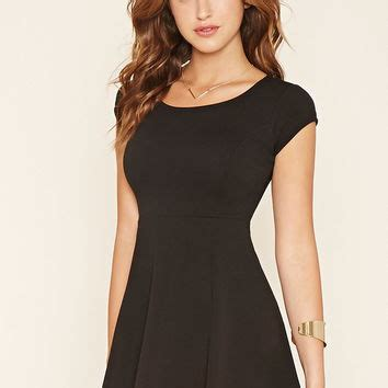 Mini Dress Sabrina Bodycon Black Ribbed M Import Original warrior sabrina bell sleeve dress from forever 21 fall