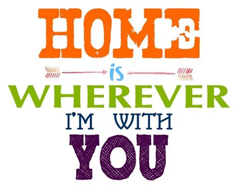 home is wherever i m with you crafty