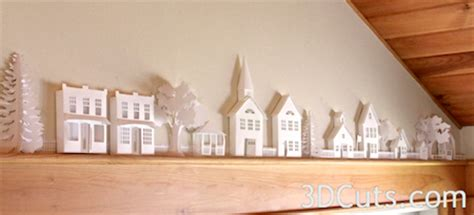 How To Make 3d Buildings Out Of Paper - tutorial ledge two story house 3dcuts