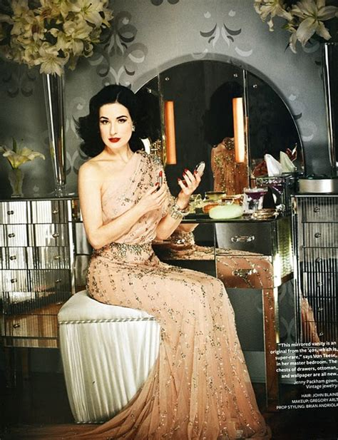 style at home dita von teese s glam retro style at home hooked on houses