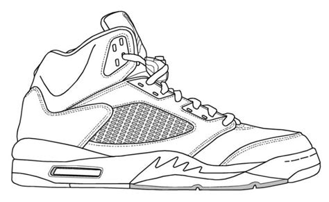 Drawing Jordans by Jordania Nike Shoe Pencil And In Color