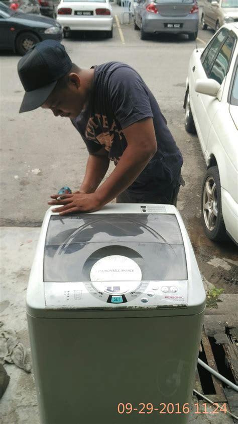 pakar baiki mesin basuh  zaki