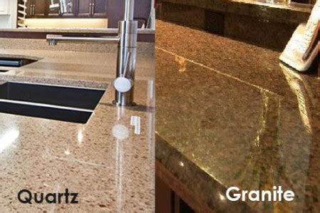 Granite Vs Quartz Countertop by Quartz Countertops Vs Granite Www Pixshark Images