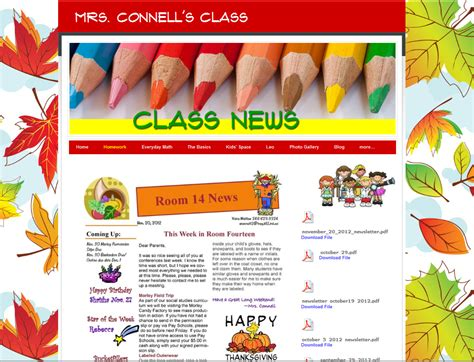 website templates for virtual classroom create an impressive class website in under an hour