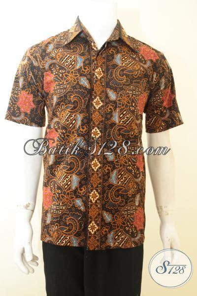 Batik Pria Masa Kini kemeja batik pria masa kini desain motif klasik terkini pakaian batik lengan pendek furing