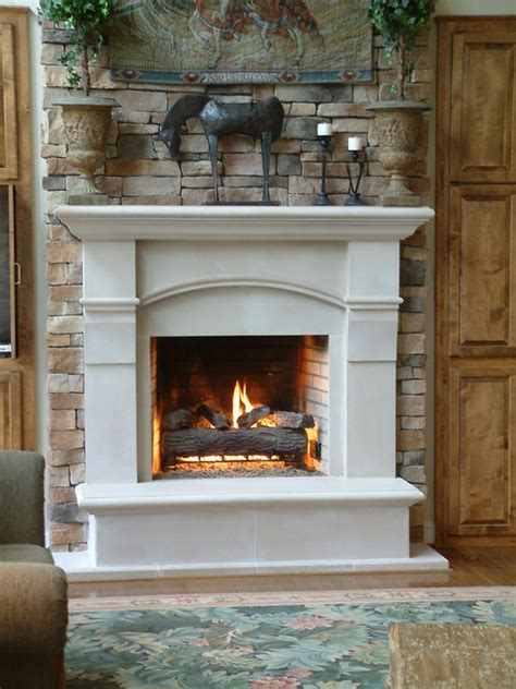 Classical Fireplace by A Classical Fireplace Surround Homedesigntime