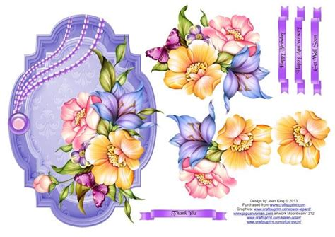 3d Decoupage Free Downloads - free decoupage downloads for card search