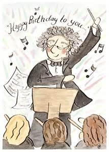 birthday conductor card roxana illustrations