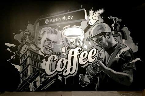 coffee shop murals  gambar lukisan dinding