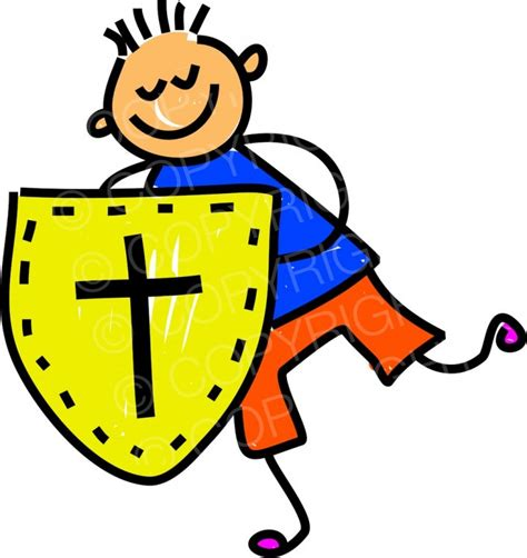 faith clipart happy shield of faith kid toddler prawny clip