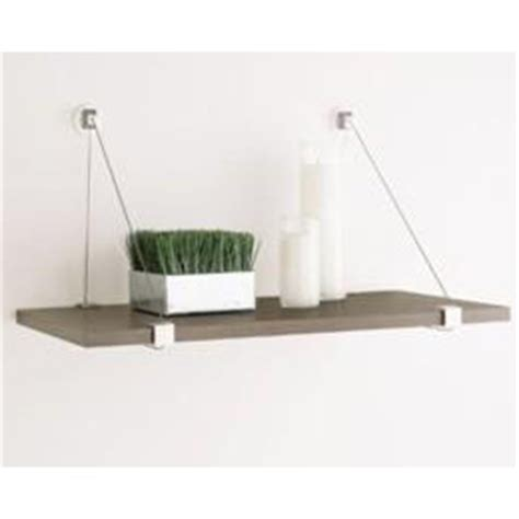 Fromo Rak Dinding Floting Shelf cable shelf brackets the container store