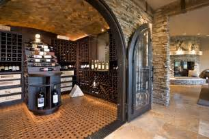 Wine Cellars In Homes - luxurious wine room rustic wine cellar minneapolis by john kraemer amp sons