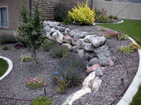 Rock Garden Bed Garden Pictures